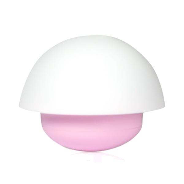 LED-lampa rosa