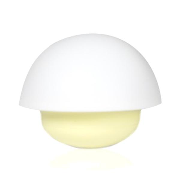 LED-lampa svamp gul