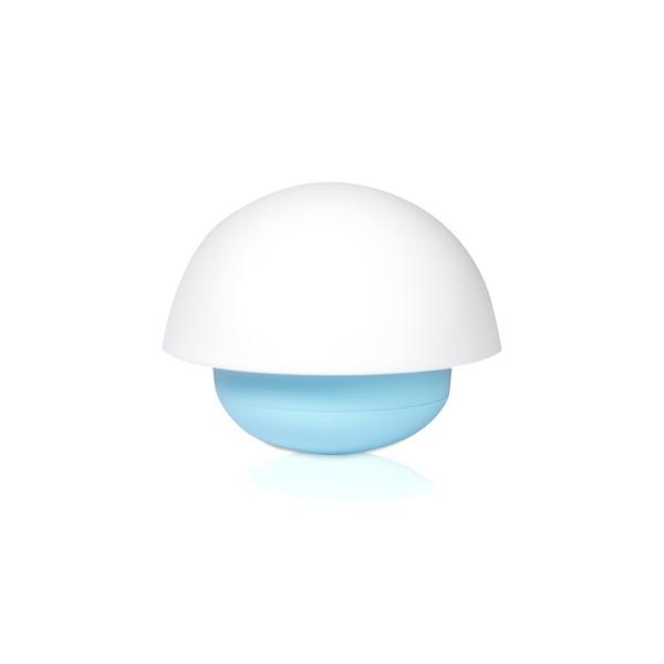 LED-lampa svamp blå