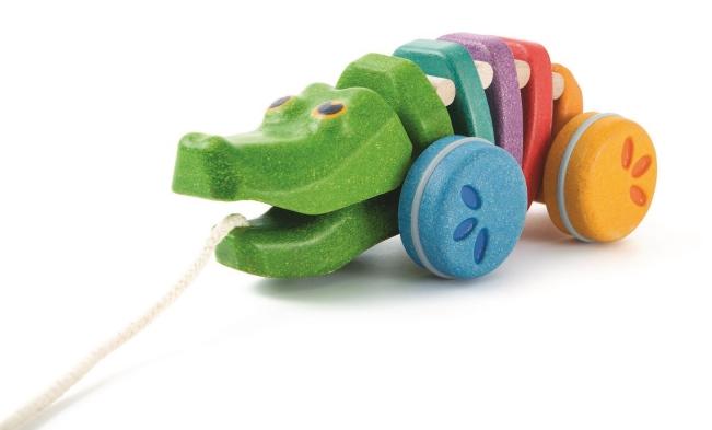 Vänliga leksaker från PlanToys, oskar&ellen, LankaKade mm.